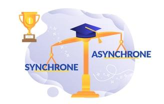 cours en ligne synchrone ou asynchrone